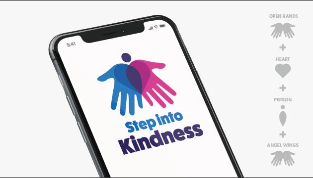 Step Into Kindness Mockup 01