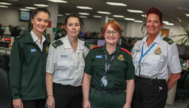 Recruiting qualified Paramedics | NEAS