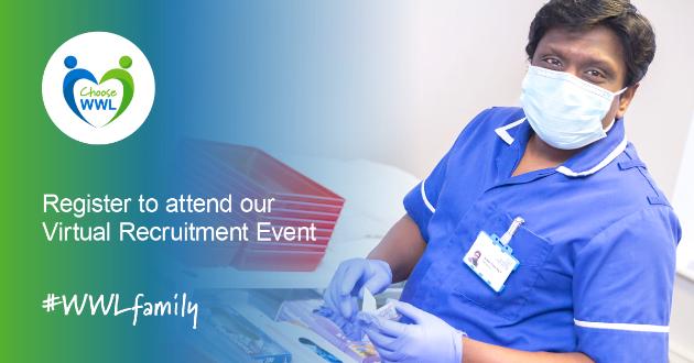 WWL Virtual Recruitment Event Qualified Nurse