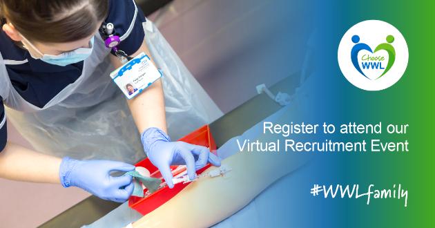 WWL Virtual Recruitment Event Student Nurse